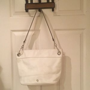 Giani Bernini white purse